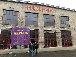 Halle 45 war Liferay DEVCON Location 2019